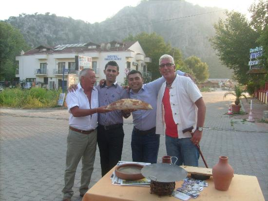 Restraunt at patio hotel dalyan