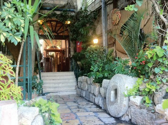 Jerusalem Hotel: Where you  enter