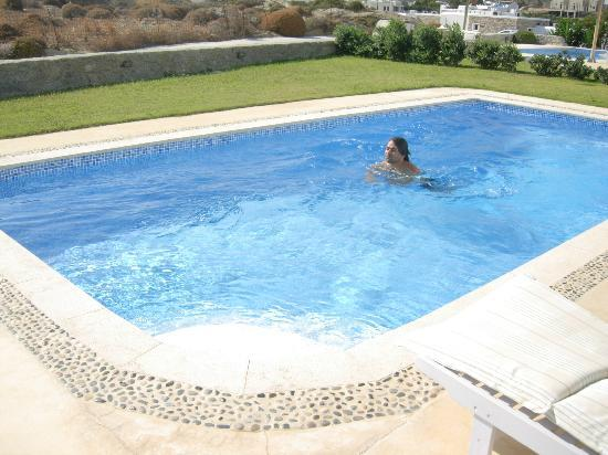 Naxian Collection: private swimming pool