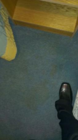 Glenavon House Hotel: Vomit stained carpet