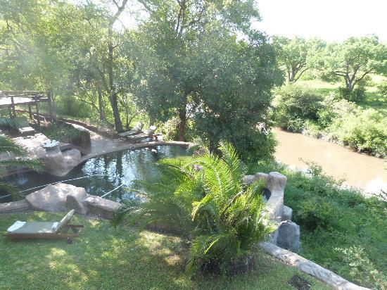 Lukimbi Safari Lodge: Common pool