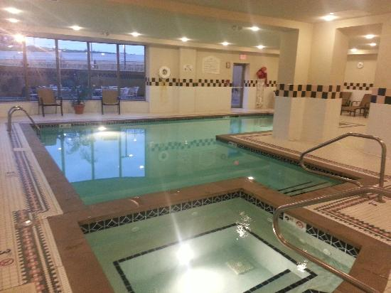 Hilton Garden Inn Cleveland Downtown: Pool