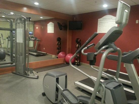 Hilton Garden Inn Cleveland Downtown: Workout room
