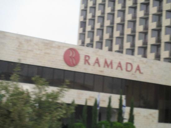Ramada Jerusalem: Outside Royal Wing