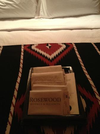 Rosewood Inn of the Anasazi: Details!