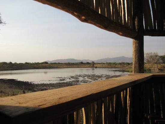Manyara Ranch Conservancy: view from the hut