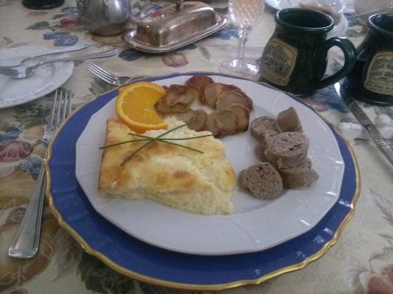 Terre Hill, : Main Course of Breakfast