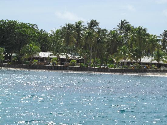 Palm Island Resort & Spa: as seen from the pink lady