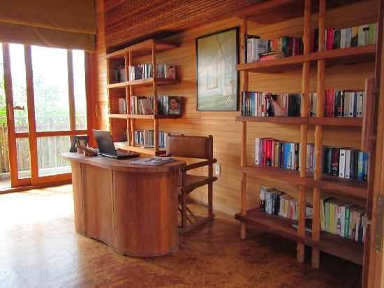 Library at Six Senses Con Dao