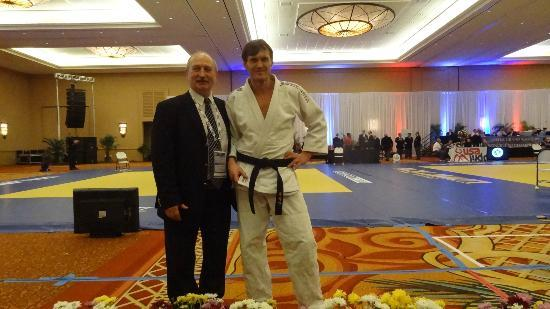 Doral Golf Resort and Spa: Judo venue in LEGENDARY BALLROOM
