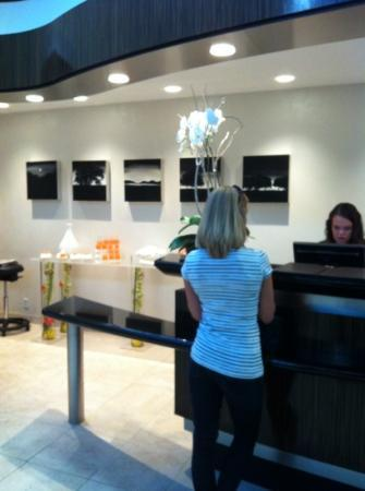 Sofitel Minneapolis: front desk