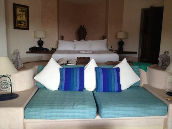 Villa Carolina Hotel: this is the bedroom