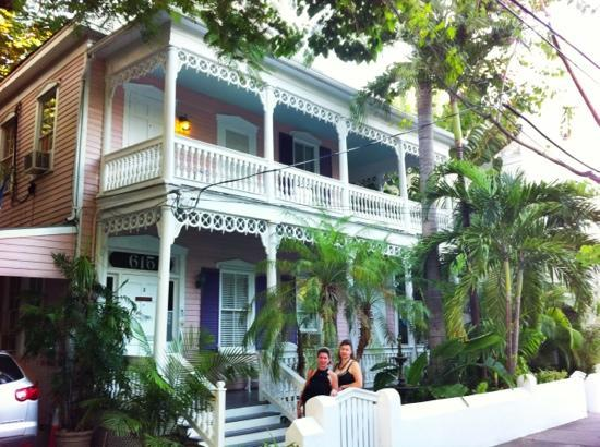 Ambrosia Key West Tropical Lodging: the house accross the street