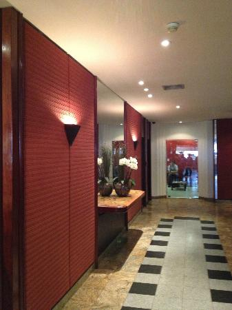 Rio Aeroporto Hotel: public areas look nicer and newer than rooms