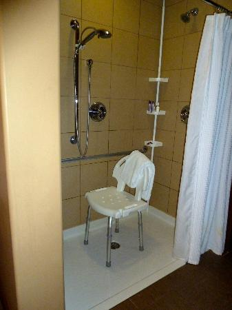 Spirit Ridge Vineyard Resort & Spa: Roll In Shower