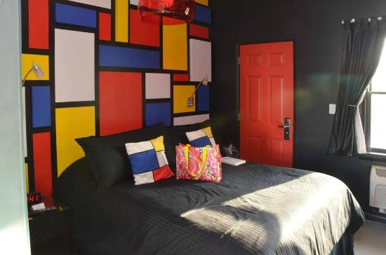 The Roxbury, Contemporary Catskill Lodging: Mondrian Room