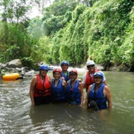 The Springs Resort and Spa at Arenal: Club Rio getting ready for the river
