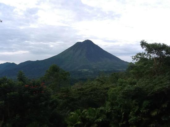 The Springs Resort and Spa at Arenal: Arenal Volcano from our room