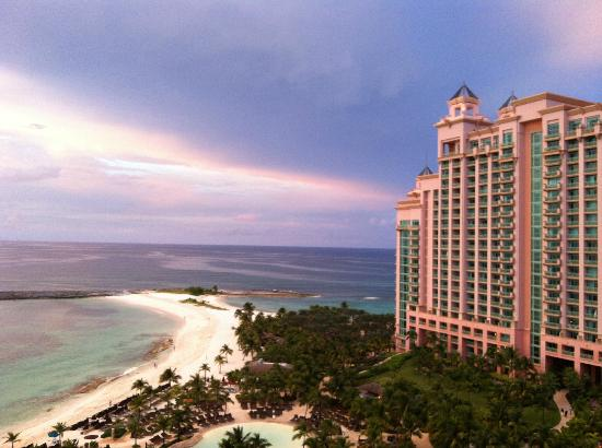The Reef Atlantis, Autograph Collection: Our ocean view room at the Reef facing the Cove