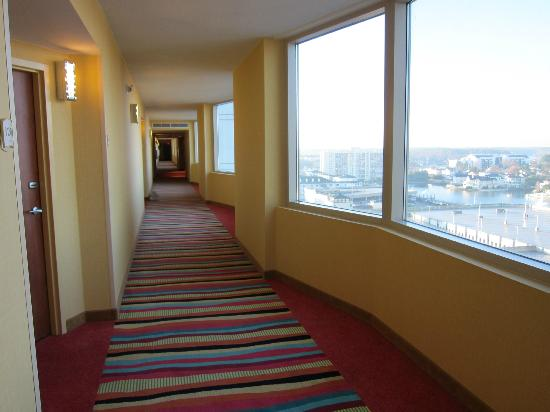 Clean Hall Way Picture Of Springhill Suites Virginia Beach Oceanfront Virginia Beach