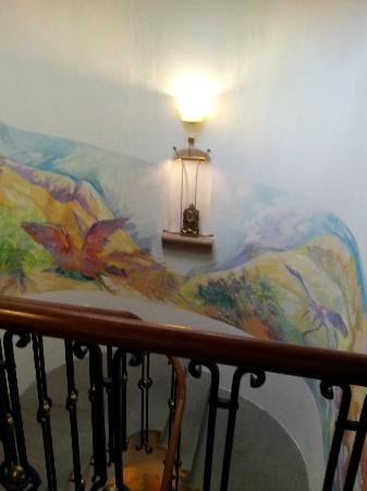 Hotel Royal Ricc: The Stairs