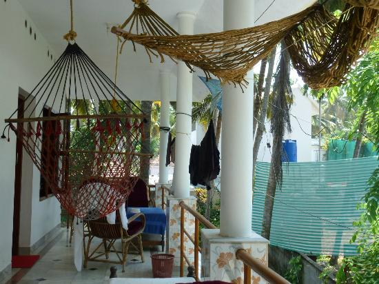 Keratheeram Beach Resort: balcony