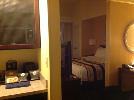 SpringHill Suites Dallas Las Colinas: suite