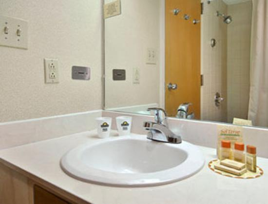 Days Inn Conference Center Southern Pines Pinehurst: Bathroom