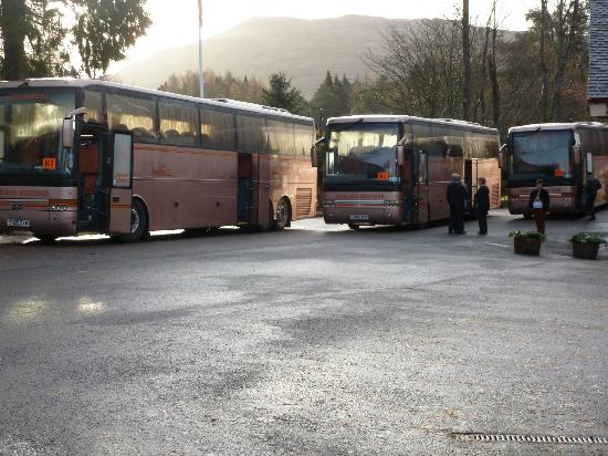 Tyndrum, UK: waiting to go on trip