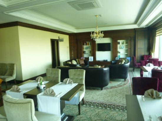 Crowne Plaza Istanbul Asia: Living room