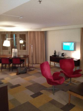 Radisson Blu Scandinavia Hotel, Gothenburg: A very comfortable corner suite