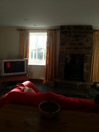 Gibbs Hill Farm: Living room