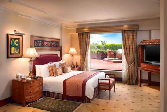 ITC Maurya New Delhi: Ashoka Suite Bedroom