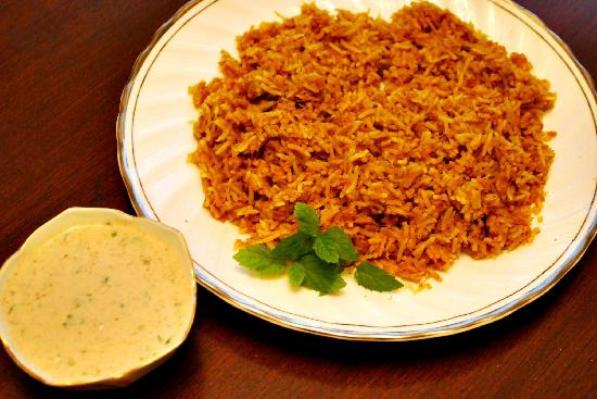 Lebanese chicken biryani picture of jaffa authentic for Authentic lebanese cuisine