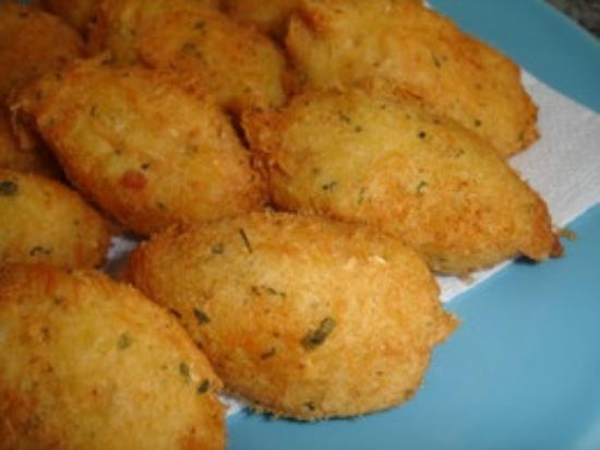 Cod Fish Cakes - Picture of Diego's Take Away Burgess Road ...