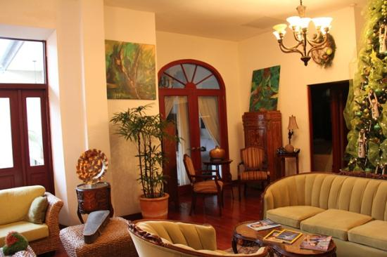 Casa Sucre Boutique Hotel: Living Room