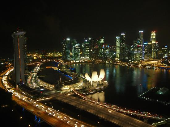 Lovely night view of Singapore - Picture of Singapore ...