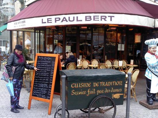 le paul bert saint ouen restaurant reviews photos tripadvisor. Black Bedroom Furniture Sets. Home Design Ideas