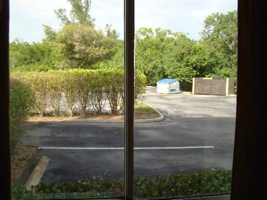 La Quinta Inn &amp; Suites Naples Downtown: Window View.