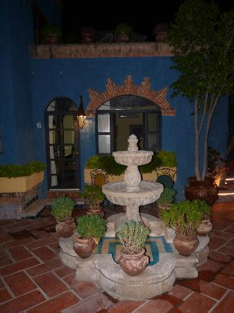 La Villa del Ensueno Hotel: one of several fountains on the grounds