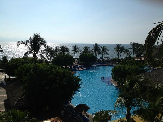 Melia Puerto Vallarta All Inclusive Beach Resort: View from our balcony