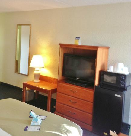 BEST WESTERN Crossroads Inn : TV and microwave available