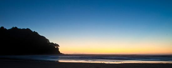 Waihi Beach, : Dusk at the beach- image Mike Hill