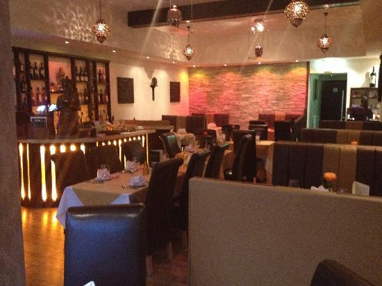 Restaurant decor picture of thai central south shields