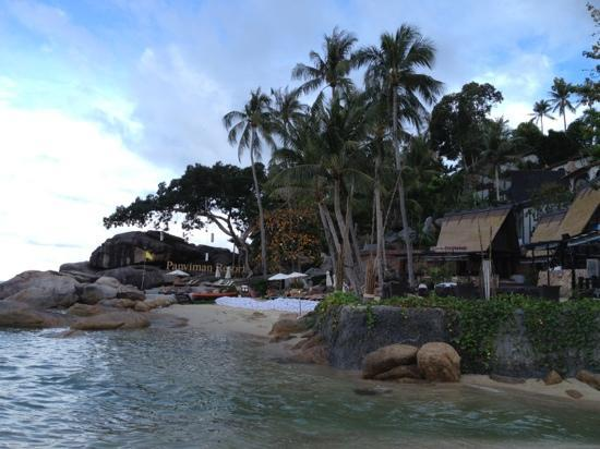 Panviman Resort - Koh Pha Ngan: view from beach