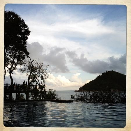 Panviman Resort - Koh Pha Ngan: evening sun