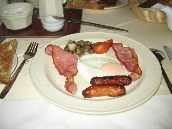Ardree House: Full Irish breakfast.