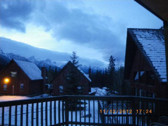 Banff Gate Mountain Resort: view from our deck