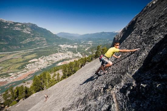 Climbing On The Squamish Chief Picture Of Squamish