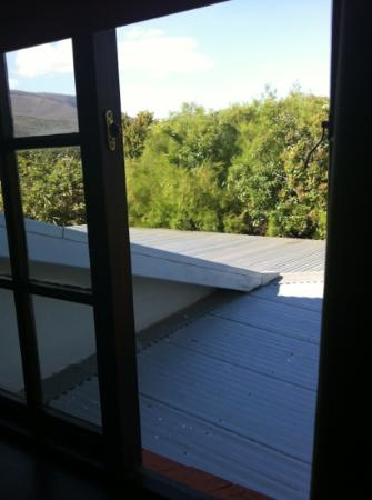 AmaKhosi Guesthouse: view from the garden room